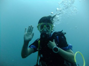One of My First Ever Dives in Malaysia