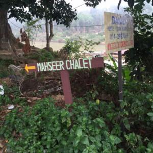 Masheer Chalet Sign