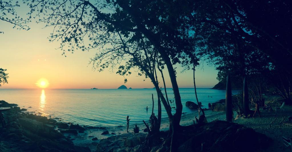 Sunset at Romantic Beach