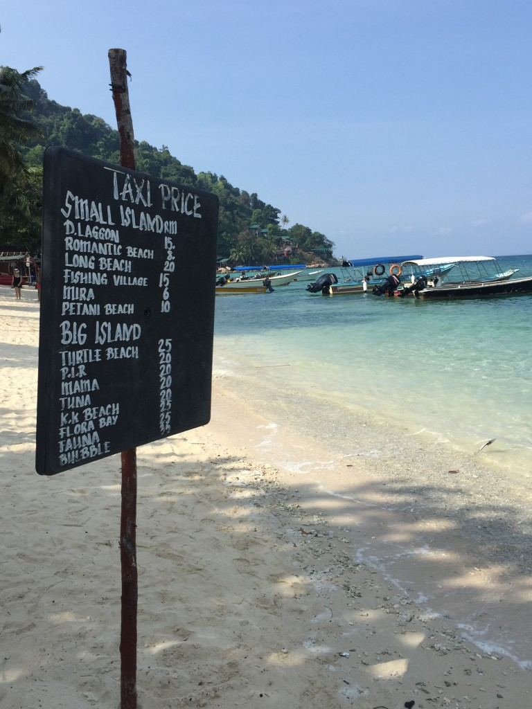Water Taxi Prices
