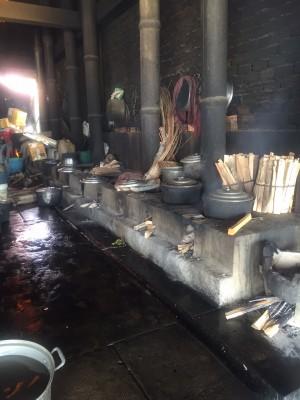 Crab cooking process