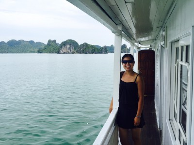 On our boat
