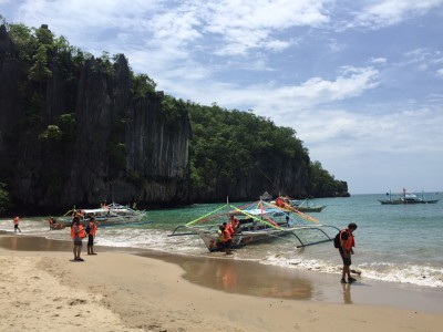 Getting to the underground river