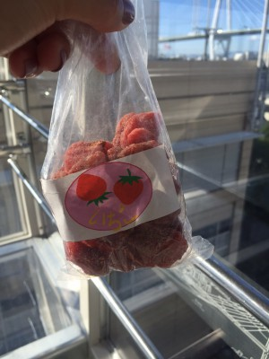 Dried Strawberries with Honey