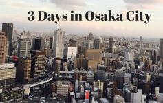 Osaka City - Cover